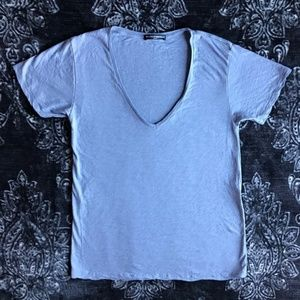Brandy Melville Basic V-Neck Tee Shirt